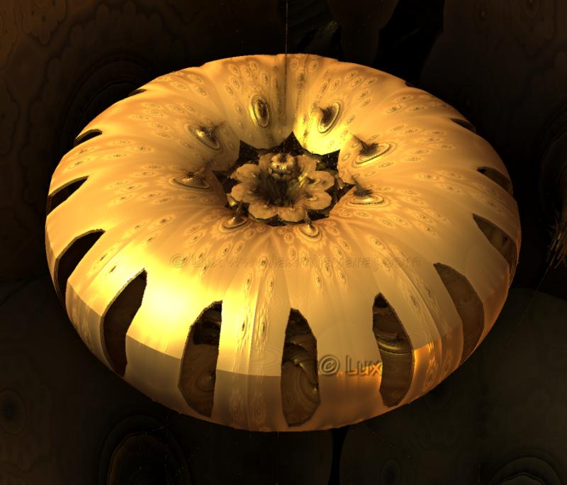 Fractal Pumpkin by LaxmiJayaraj