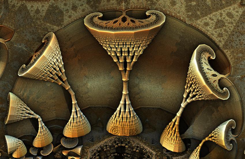 Unfolding Shapes... by LaxmiJayaraj