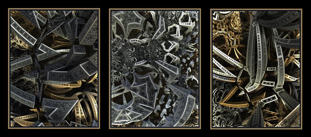 Triptych by LaxmiJayaraj