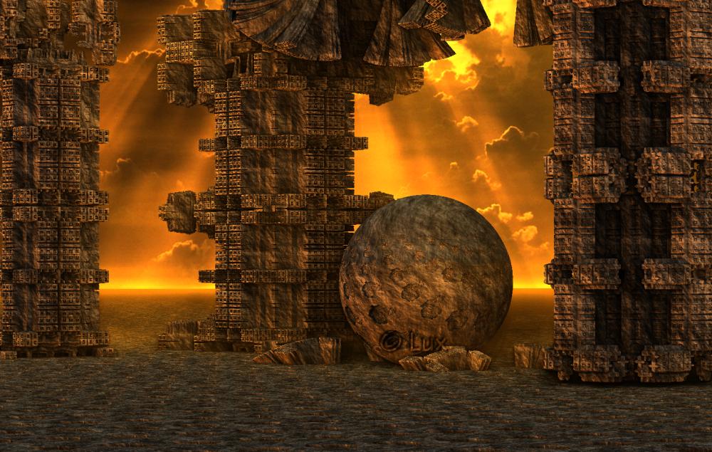 Ruins... by LaxmiJayaraj