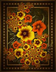 Fall Flowers... by LaxmiJayaraj