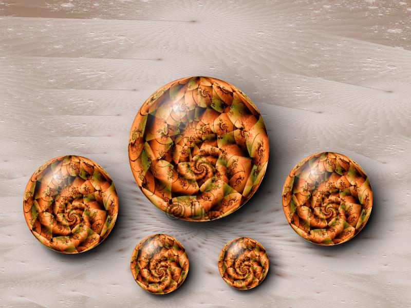 Autumn Marbles... by LaxmiJayaraj