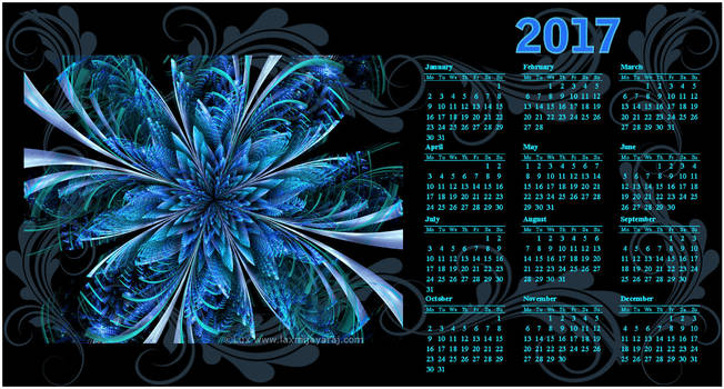 PC Desktop Calendar 2017...