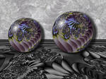 Crystal Globe...Marbles...