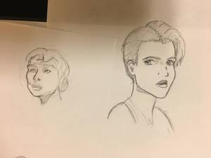 Sketch practice. Model referencing.