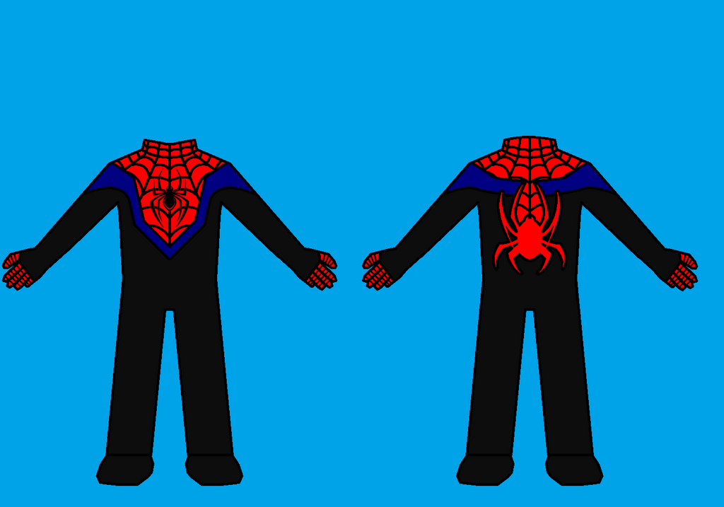 Alt Miles Spider Man costume colors by Viewer934