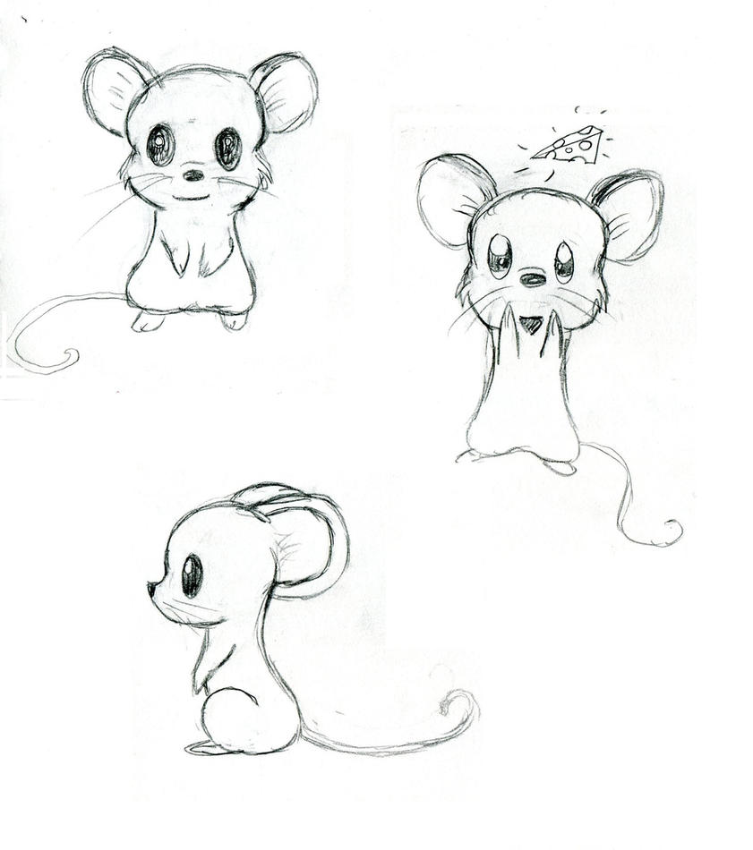 Mice by tiger tomboy14 on deviantart for How to draw with a mouse