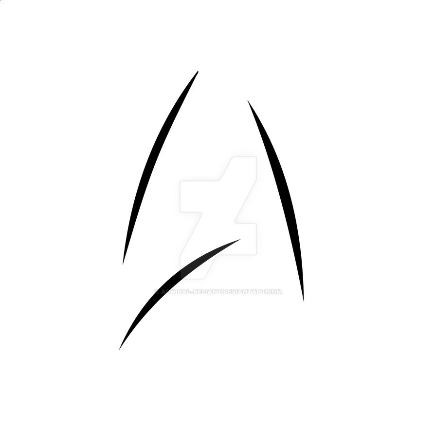 star trek beyond logo by admiral reliant on deviantart
