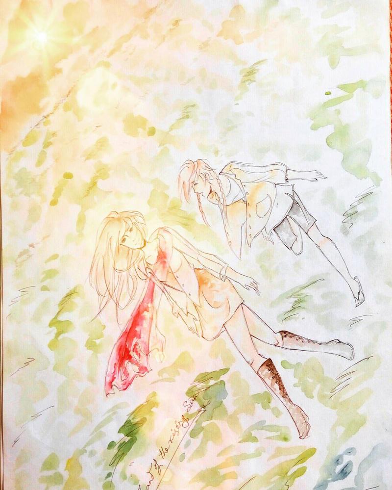 THE DAWN OF MY DAYS! by urbi-san