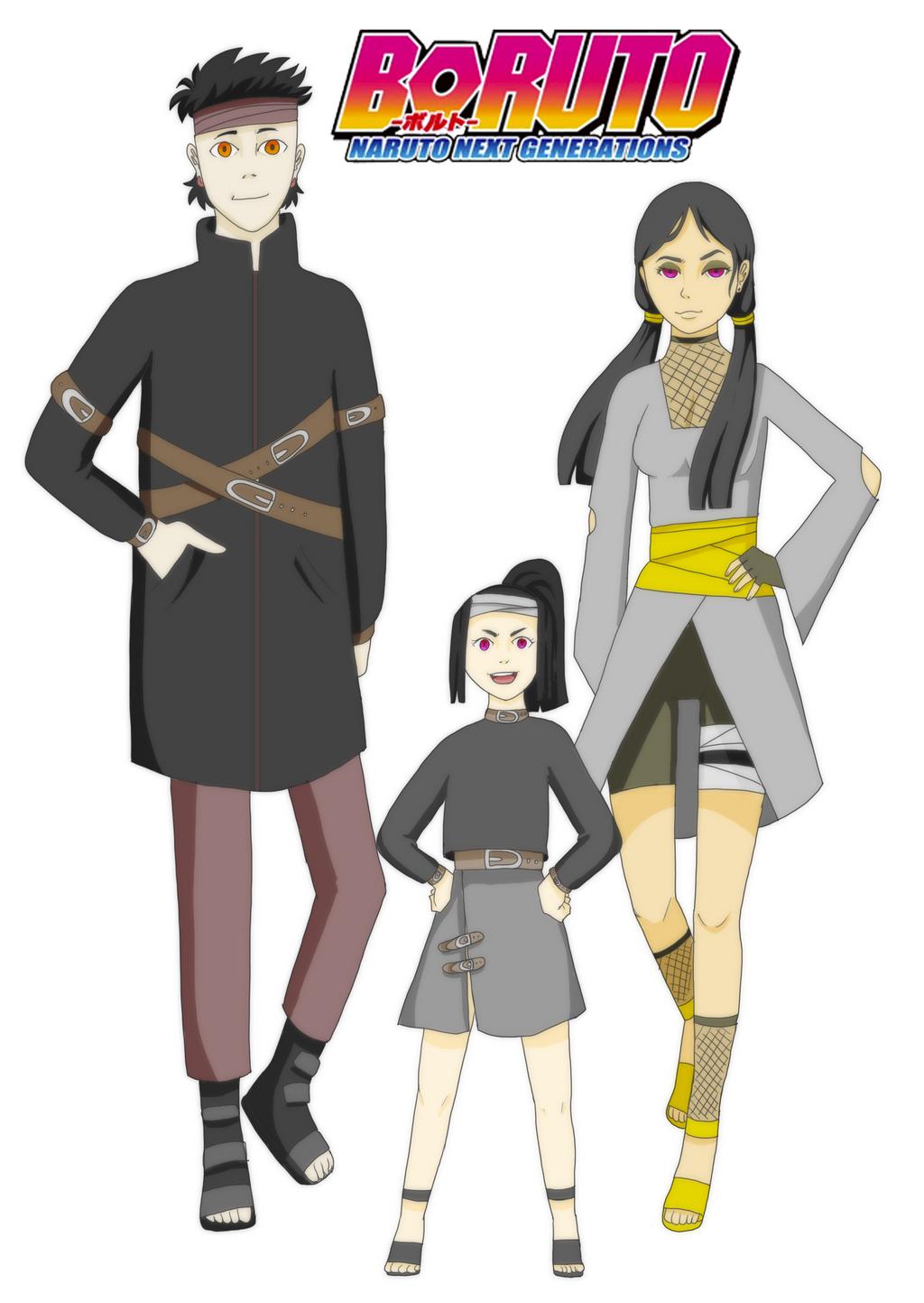 Boruto OC: Fusuki's Family by hotkage on DeviantArt