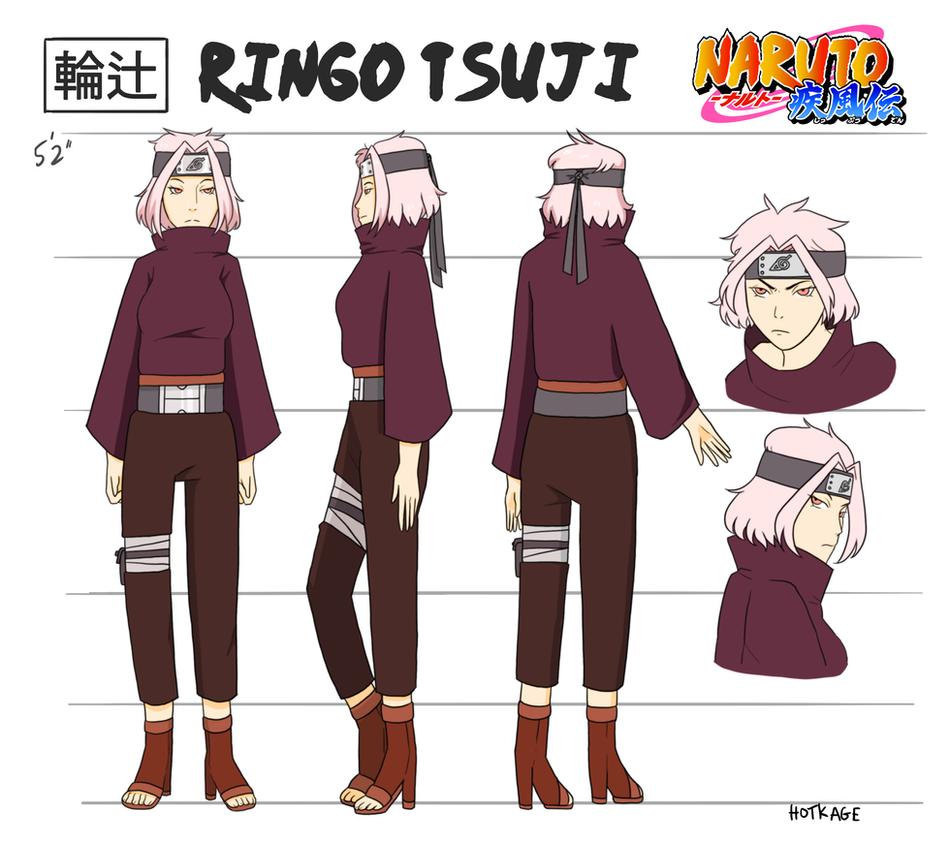 Anime Male Pink Hair Puppets Naruto Oc: Naruto OC: Tsuji Ringo By Hotkage On DeviantArt