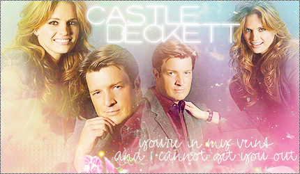 Castle and Beckett signature by LissBlueJays