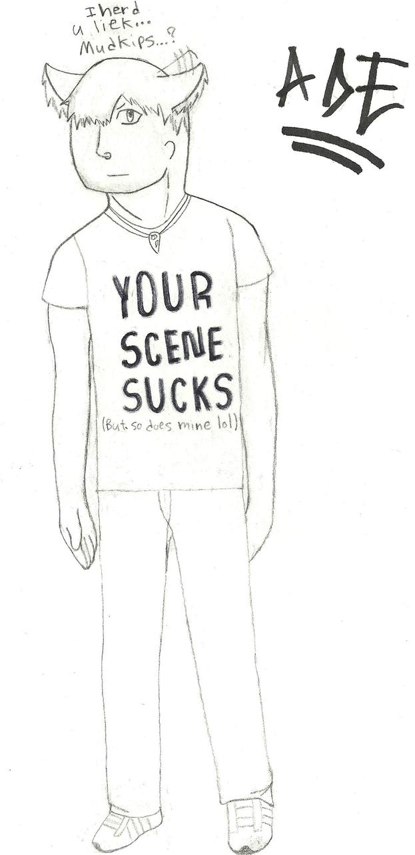 Ade: Your Scene Sucks by AdeManx