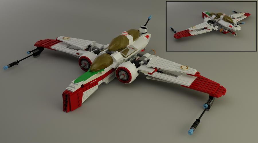 Lego 7259 Star Wars Arc 170 Starfighter