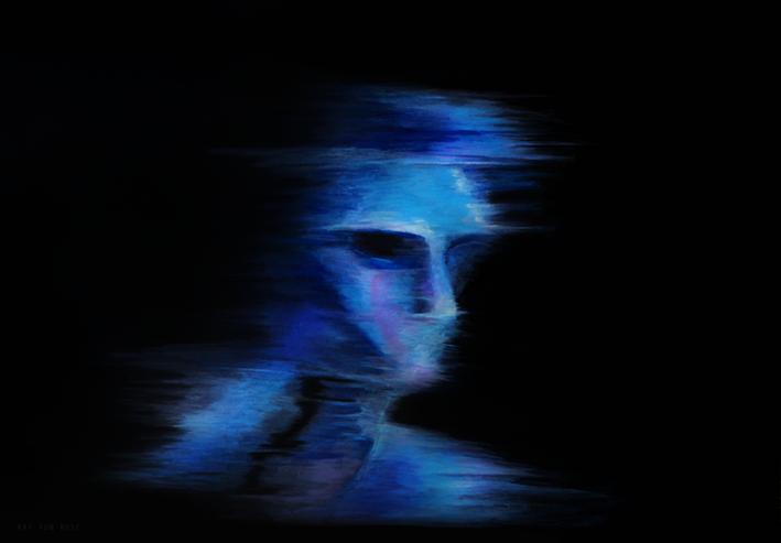 Feel Blue by Kat-von-Rose