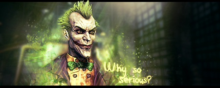 Joker signature by playerPS