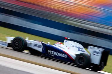 Blurry Robert Kubica by F1Snapper
