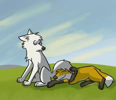 The foxbrella!