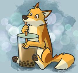 Boba fox tea!