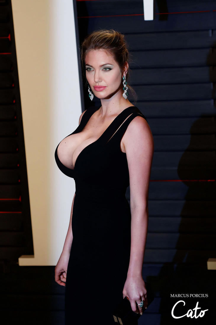 Angelina Jolie - Kate Upton style #2 (request) by jmurdoch