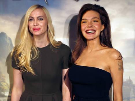 Angelina Jolie / Elle Fanning - Body switch