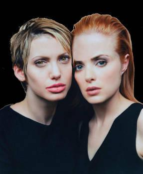 Angelina Jolie / Wimona Ryder - Body switch