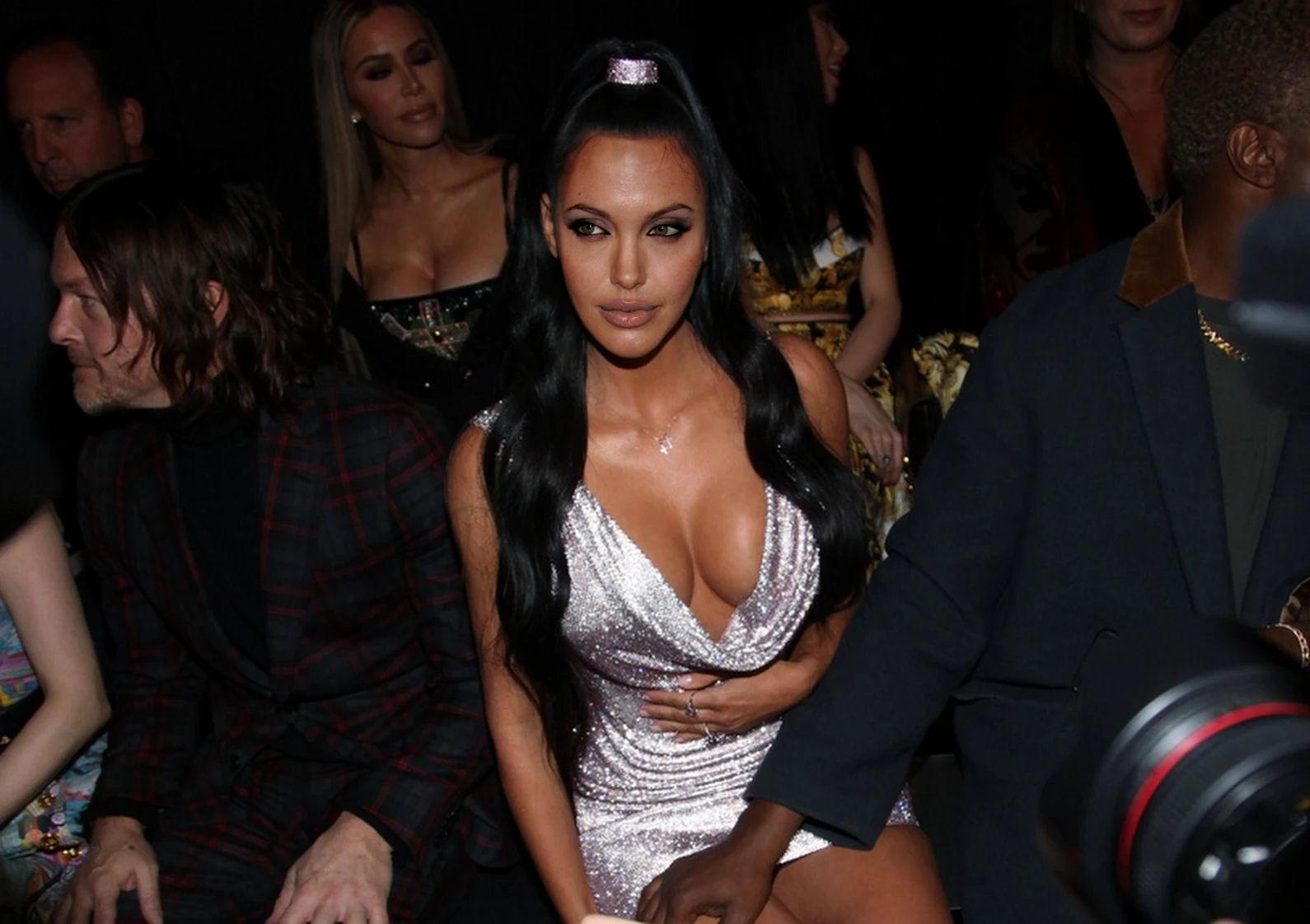 Angelina Jolie - Kim Kardashian Sexy style #3 by jmurdoch