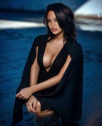 Angelina Jolie - Vida Guerra style by jmurdoch