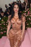 Angelina Jolie - Kim Kardashian MET Gala style