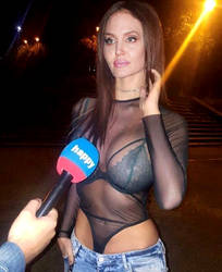 Angelina Jolie - Happy interview by jmurdoch