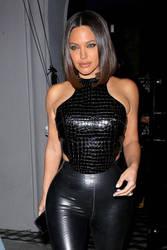 Angelina Jolie - Kim Kardashian Leather style by jmurdoch