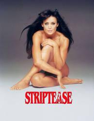 Angelina Jolie - Demi Moore (Striptease) by jmurdoch