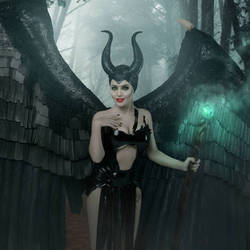 Angelina Jolie - Maleficent tribute #2 by jmurdoch
