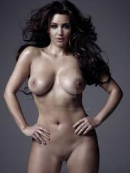 Angelina Jolie - Kim Kardashian nude by jmurdoch
