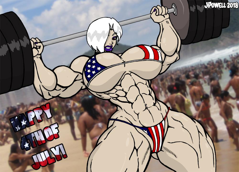 Independence Day Gunshow by RandomReduX