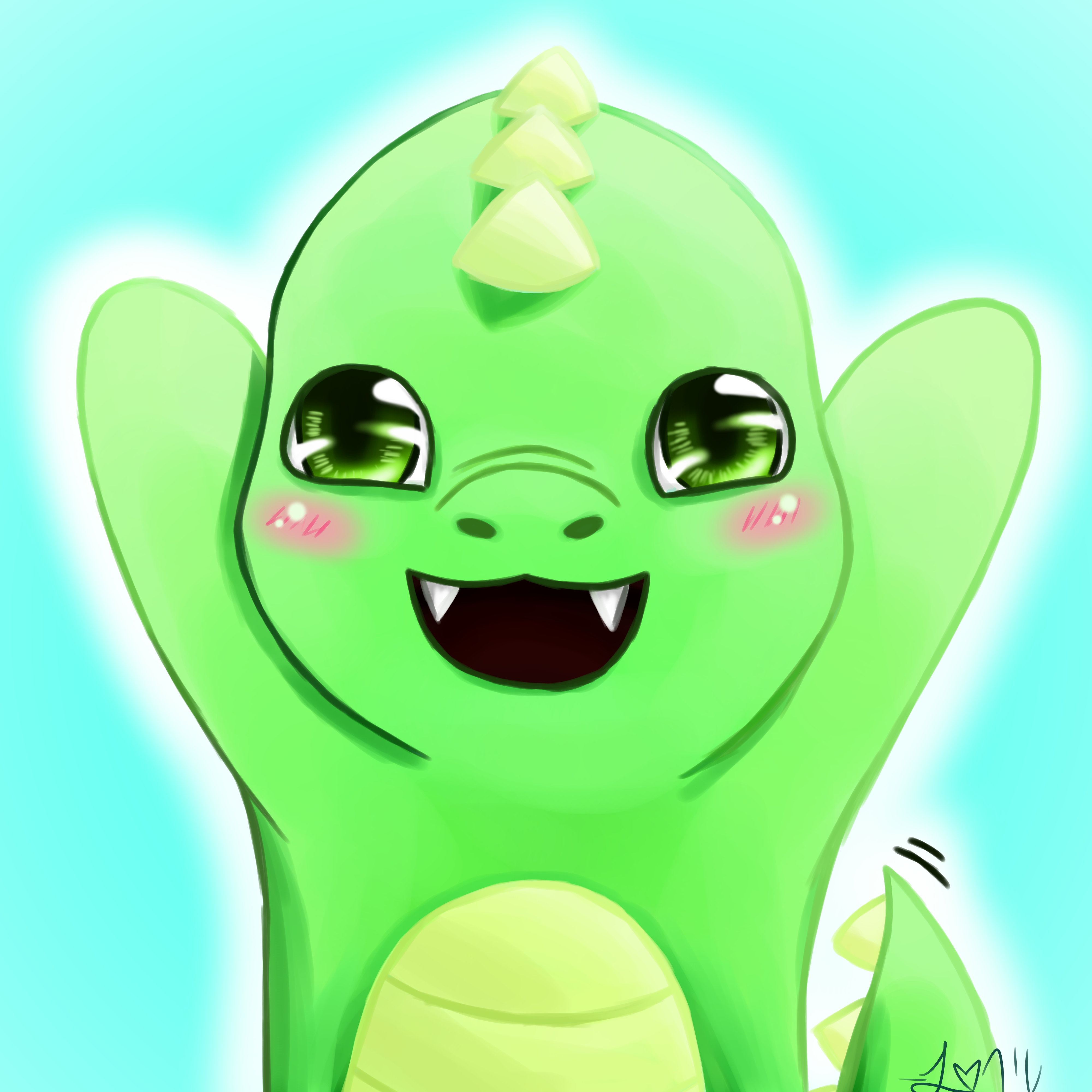 Cute Dinosaur Stickers | Zazzle