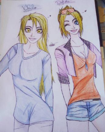 Nathalie and Dakota by CelesteTime