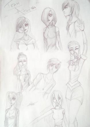 Team Athena by CelesteTime