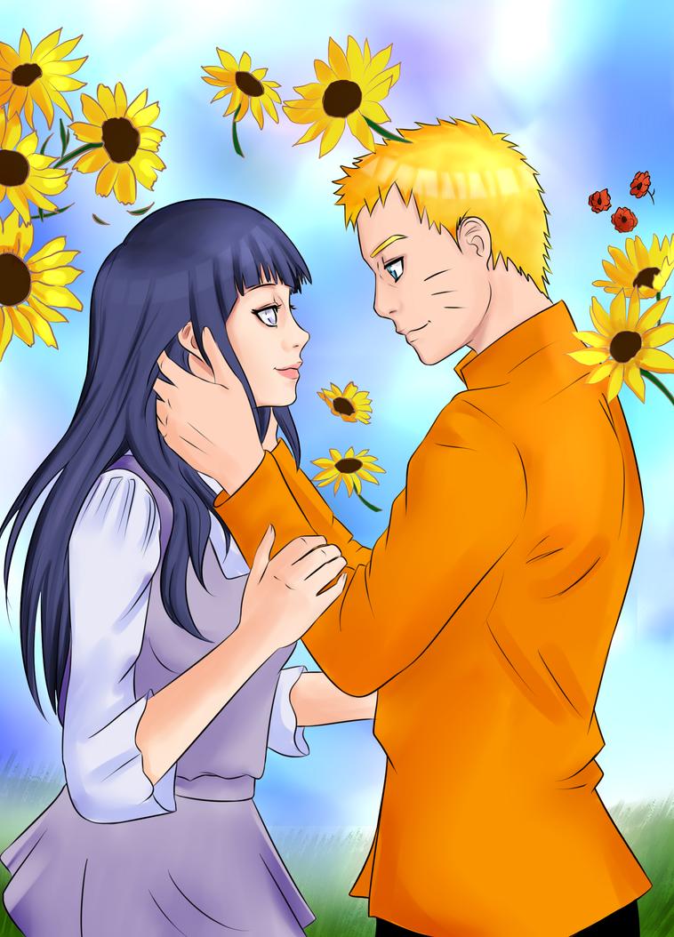 Naruto and Hinata by Miaka-chin