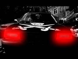 Evil car by NaturalBornCamper
