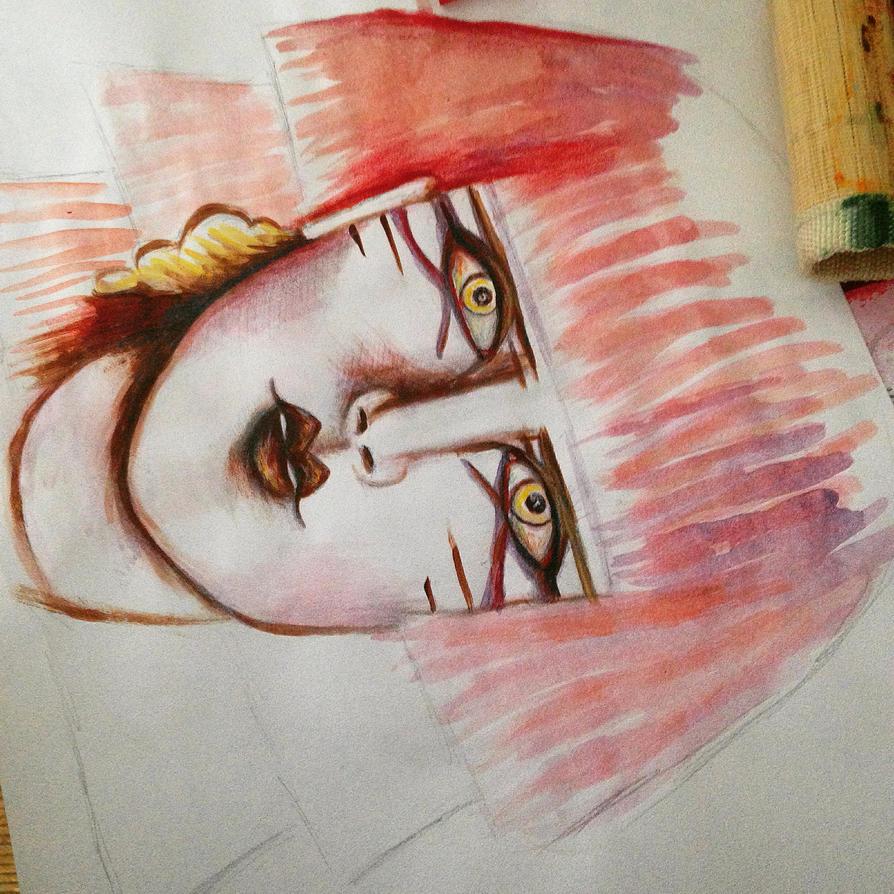 Face 1 by taraozella