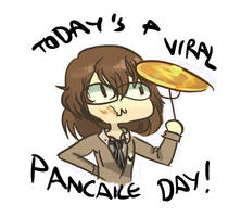 Today's a viral pancake day