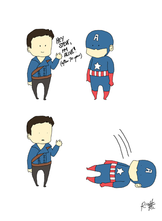 Captain America 2 TWS. by Ricochet-X