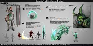 LoL Fan Champion Creations :Reika by daemonstar