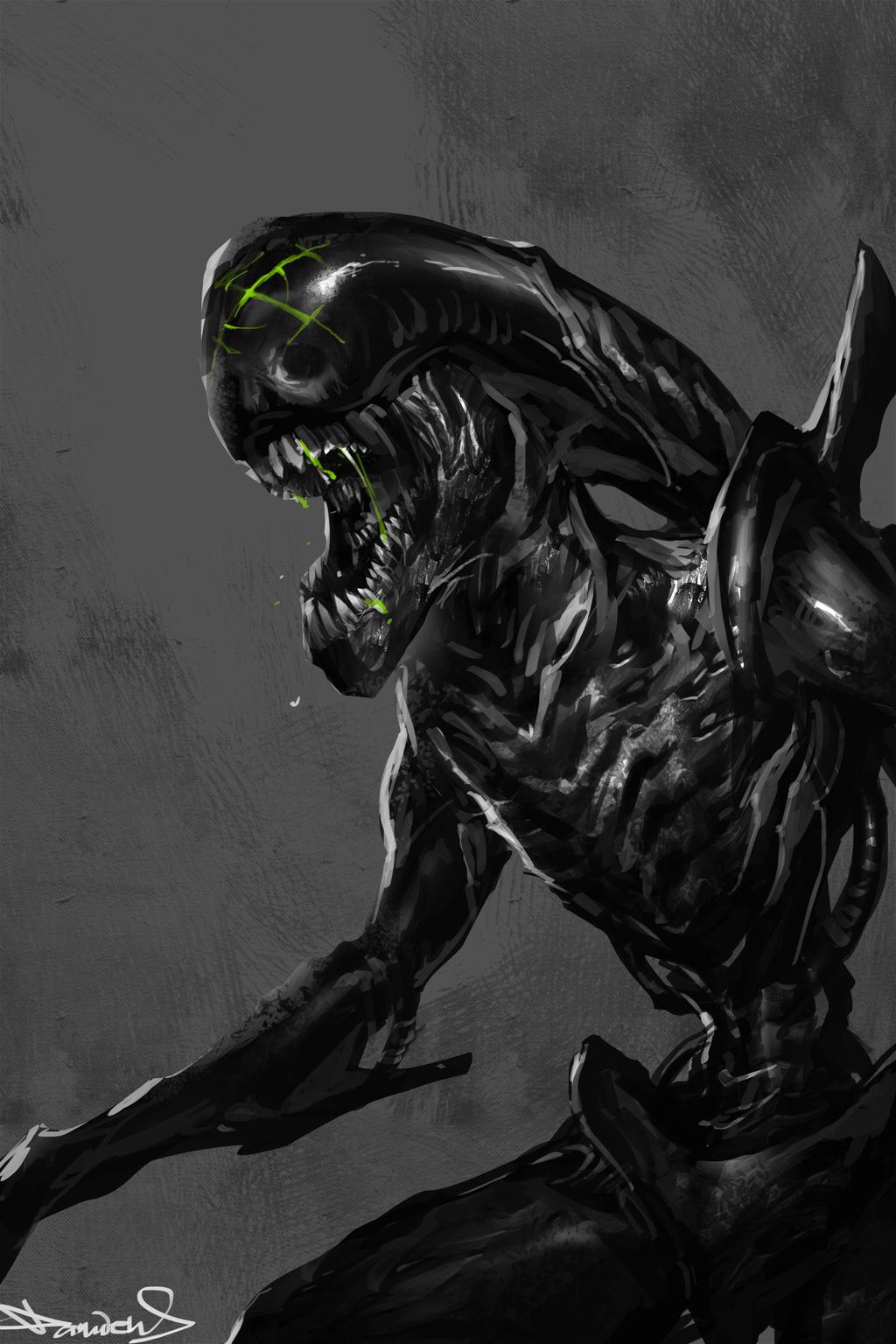 AvP favourites by BlackCynder on DeviantArt H.r. Giger Queen Alien
