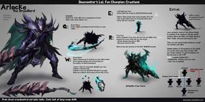 LoL Fan Champion Creations :Arlocke by daemonstar