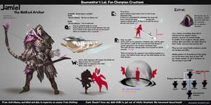 LoL Fan Champion Creations :Jamiel by daemonstar