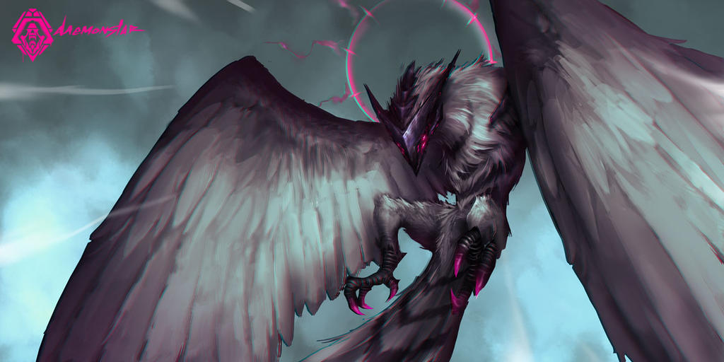 Bird of Mirage by daemonstar