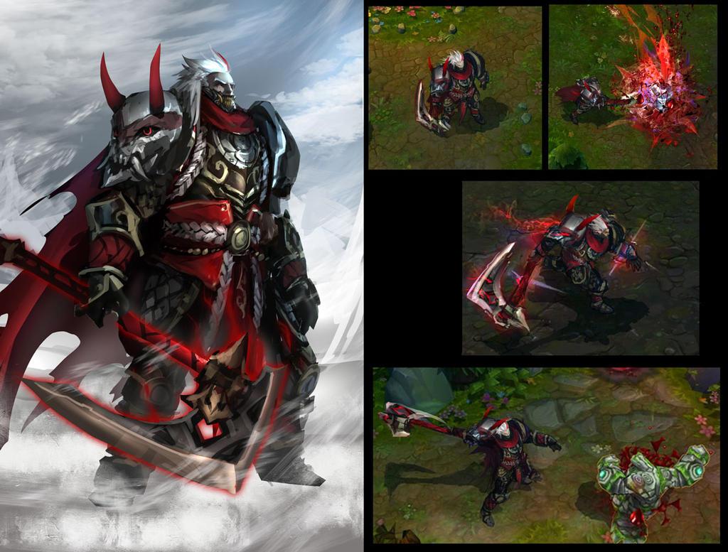 Bloodmoon Darius Skin Idea by daemonstar on DeviantArt