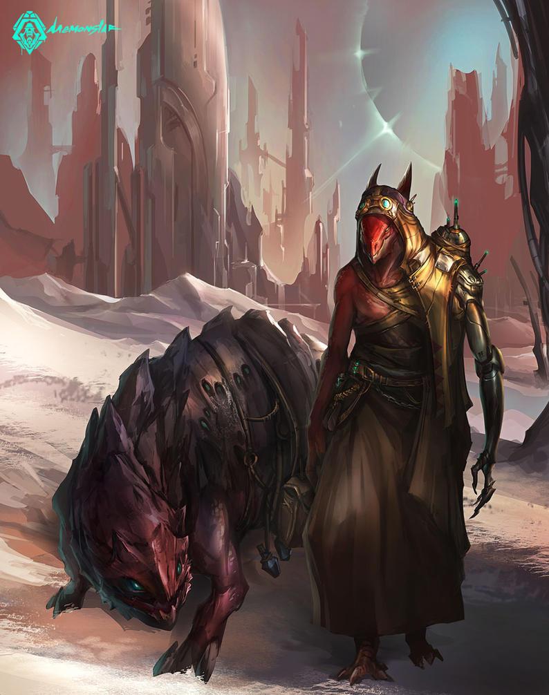 Scavenger by daemonstar